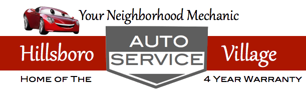 Hillsboro Village Auto Services Repair Logo