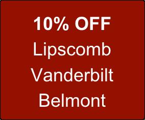 10% off Lipscomb, Vanderbilt and Belmont, call for automotive repair in Nashville, TN, Hillsboro Village Auto Service.